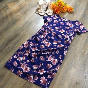 ☀️NEW! PinkBlush Floral Midi Dress